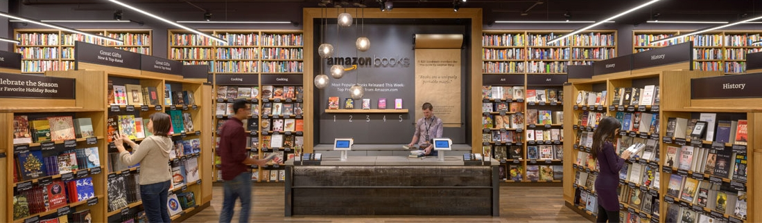 Amazon-Bookstore in Seattle